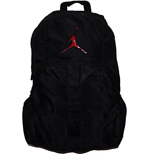ジュニア~メンズサイズ NIKE ナイキ エア・ジョーダン スリムフィットブラックバックパック JUMPMAN Air Jordan バッグ マイケルジョーダン 黒リュックサック バッグ・小物・ブランド雑貨 メンズバッグ [並行輸入品]