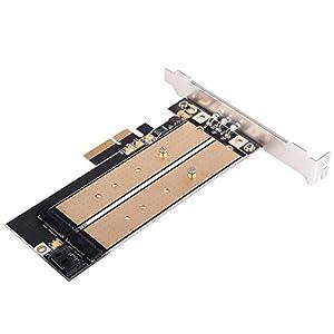 SilverStone M.2 SSD対応PCIE変換アダプタ SST-ECM22 日本正規代理店品