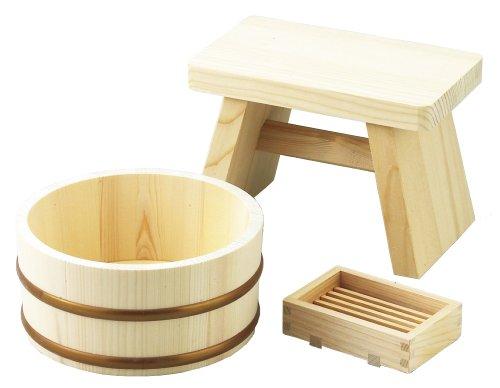 岸田産業 木製 お風呂セット 502 310-502