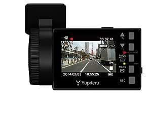 ユピテル 常時録画ドライブレコーダー 2.4インチ液晶搭載200万画素FullHD画質 DRY-FV33