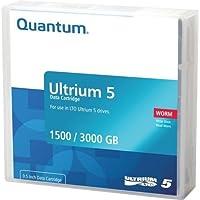 Quantum mr-l5mqn-02データカートリッジ、LTO Ultrium 5WORM。Mustの倍数で注文20。