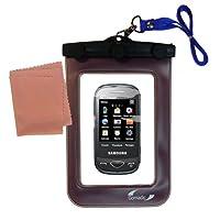 Gomadicアウトドア防水携帯ケースSuitable for the Samsung b3410Wに使用Underwater–keepsデバイスClean and Dry
