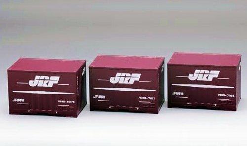 TOMIX HOゲージ HO-3109 JR V19B形通風コンテナ (3個入)