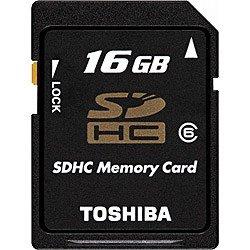 東芝 SDHCメモリカード 16GB Class6 SD-GH016G