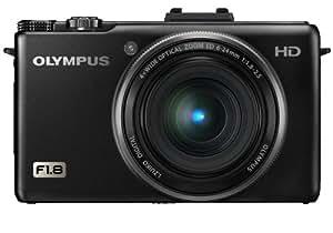 OLYMPUS デジタルカメラ XZ-1 ブラック 1000万画素 1/1.63型高感度CCD 大口径F1.8 i.ZUIKO DIGITALレンズ 3.0型有機ELディスプレイ XZ-1 BLK