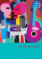 "Blank Sheet Music Notebook: Music Journal | 80 Pages of Manuscript Paper | Notebook for Musicians (A4 8,27"" x 11,69"")"