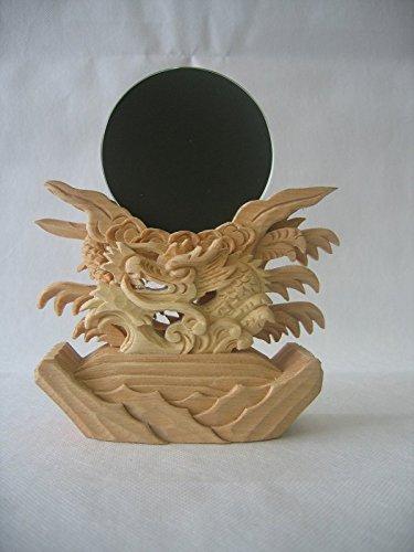 神鏡 龍神彫り神鏡