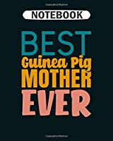 Notebook: guinea pig mother  College Ruled - 50 sheets, 100 pages - 8 x 10 inches