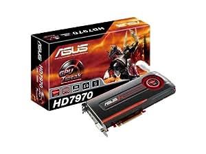 ASUSTek PCI-Express3.0対応グラフィックスボード AMD RADEON HD7970 HD7970-3GD5