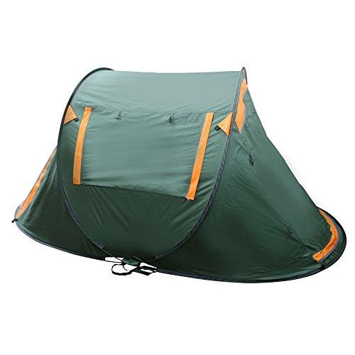 WEIMALL テント ワンタッチテント 1人用 2人用 ポップアップテント キャンプ テント ワンタッチ ビーチテント 着替え 日よけ テントフルクローズ テント 簡易テント ドーム オールシーズン