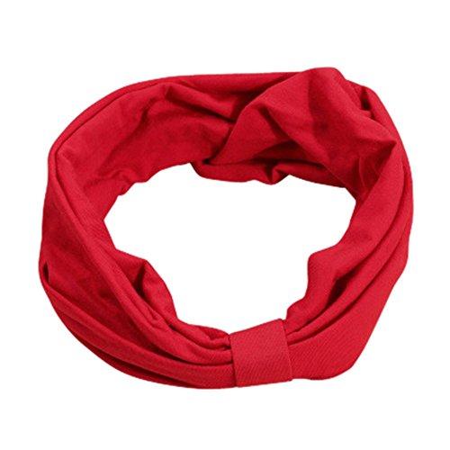 DRASAWEE(JP)婦女超寬發帶簡單Yogabando發飾一刀切豐富多彩的16色
