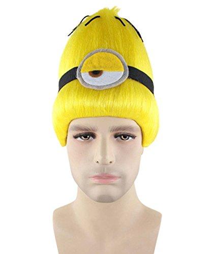 Wigs2you バナナ 妖怪 黄色 ショート ウィッグ H-2353 フルウィッグ コスプレ 遊園地 最高級 ナチュラル かつら 双子コーデ