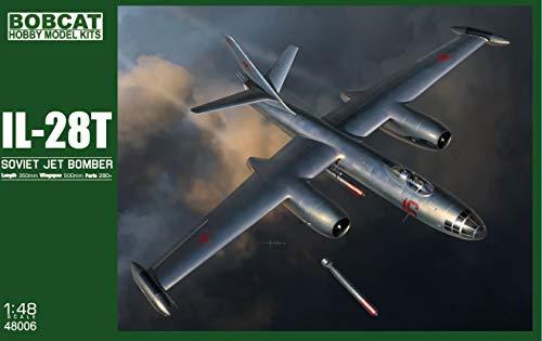 ボブキャットモデル 1/48 ソ連軍 イリューシン Il-28T 雷撃機型 プラモデル BBC48006