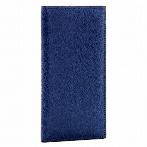 Valextra(ヴァレクストラ) 財布 メンズ グレインレザー 2つ折り長財布 ロイヤルブルー V8L21-028-00RO[並行輸入品]