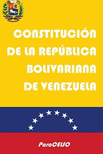 Download Constitución de Venezuela: Constitución de la República Bolivariana de Venezuela 1521316481