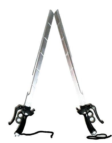 剣 刀 ブレード 武器 双剣 2点セット 全長96㎝ コスプ...