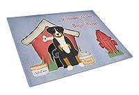 Carolines Treasures BB2797LCB Dog House Collection Appenzeller Sennenhund Glass Cutting Board, Large