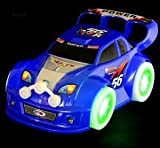 Best WolVol誕生日おもちゃ - WolVol (BLUE) Electric Car Toy with Beautiful Flashing Review