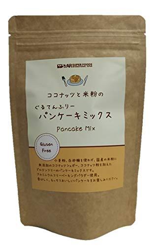 ココナッツと米粉のパンケーキミックス