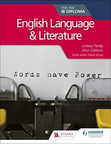English Language and Literature for the IB Diploma (English Edition)