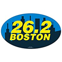 ボストン26.2Running Car Magnet by Gone For A Run