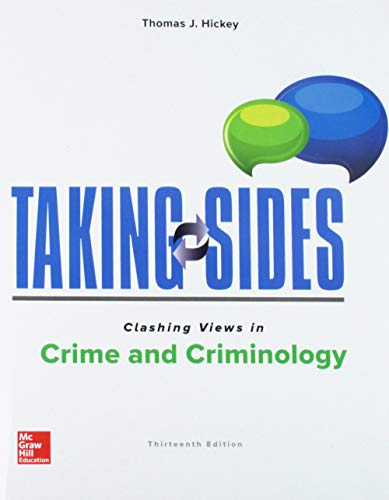 Download Taking Sides: Clashing Views in Crime and Criminology 1260180344