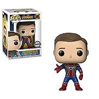 Funko Pop Marvel Avengers Infinity War Iron Spider 305 (Unmasked)