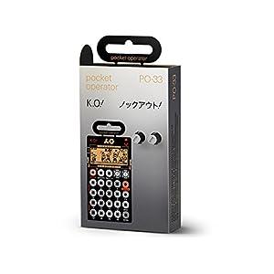 Teenage Engineering ポケットオペレーターPO-33 ko ビート作りに最適な4ボイス・サンプラー TE010AS033【正規輸入品】ポケットサイズの本格サンプラー