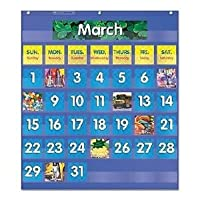 Scholastic月間カレンダーポケットチャート–shs511479仕入先: Shoplet