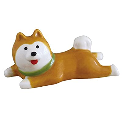 DECOLE SHIBA HACHI シリーズ 伏せ寝箸置き ZCB-74541 柴犬