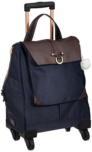 [カナナプロジェクト] スーツケース等 カナナCL-3TR ソフトキャリー 機内持込可 16L 39cm 2.3kg 55302 03 ネイビーブルー