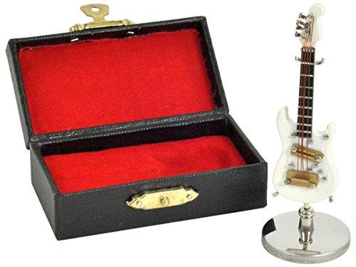 [해외]SUNRISE SOUND HOUSE 선 라이즈 사운드 하우스 미니어처 악기 GE34-7cm WH | 일렉트릭 기타/SUNRISE SOUND HOUSE Sunrise Soundhouse Miniature instrument GE 34 - 7 cm WH | electric guitar