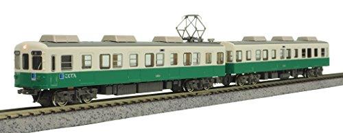 グリーンマックス Nゲージ 高松琴平電鉄1200形 長尾線 2両編成セット 動力付き 50591 鉄道模型 電車