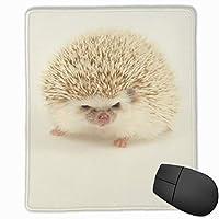 マウスパッド ハリネズミプリント 光学式マウス対応 おしゃれ 滑り止め 防水 耐洗い表面 オフィス用 家庭用 30*25CM