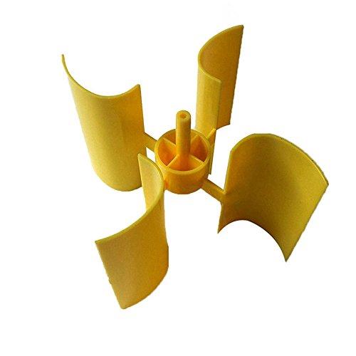GAOHOU 垂直型マイクロ 風力発電機用 小型モータブレー...