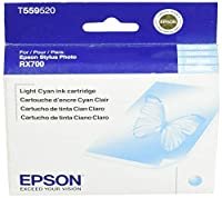 EPSON Light Cyan Cartridge T5595 20 for Style Photo RX700