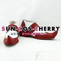 【サイズ選択可】コスプレ靴 ブーツ K-1881 キズナイーバー 天河一 てんがはじめ 女性22CM