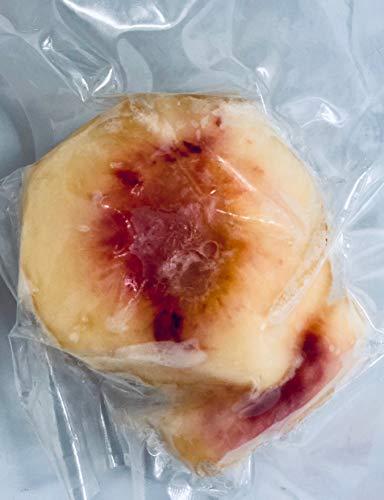 国産冷凍桃(岡山、和歌山、山梨産など) 100g 【消費税込み】国産 完熟桃 をカットしています。