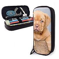 男の子と女の子のためのかわいい子犬ペンケース学生用ペンケース