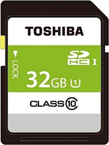 TOSHIBA SDHCカード 32GB Class10 UHS-I対応 (最大転送速度40MB/