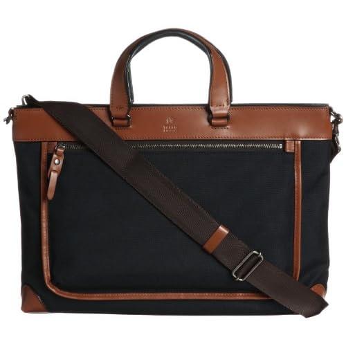 [タケオキクチ] ビジネスバッグ A4 スナッパー 172522 NVY コン