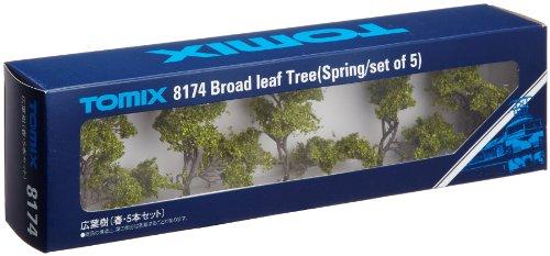 Nゲージストラクチャー 広葉樹 (春・5本セット) 8174
