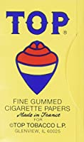 (10 Pack) Top Rolling Papers - 70mm Single Wide Cigarette Papers - Package of 10 by Unknown