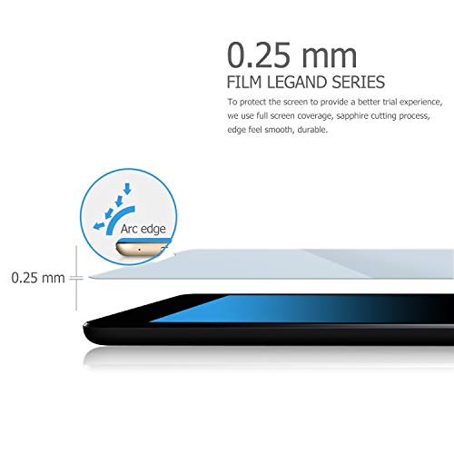 Samsung Galaxy TAB S5E T720/T725 Screen Protector Glass, IVSO Premium 9H Hardness HD Tempered-Glass Film Screen Protector for Samsung Galaxy TAB S5E T720/T725 2019 Tablet, 2 Pack