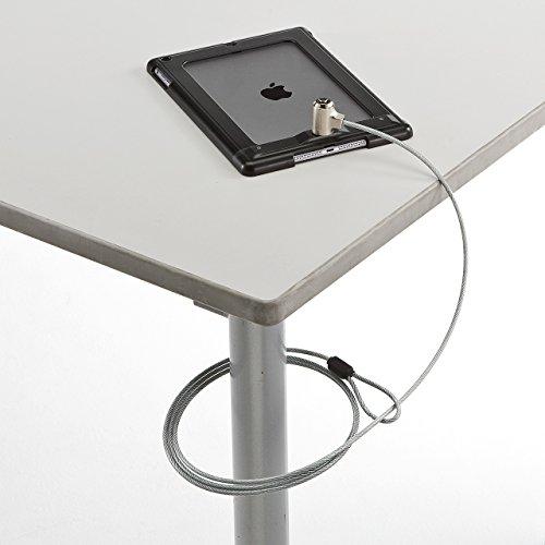 サンワサプライ セキュリティワイヤーロック iPad Air対応 ブラック SLE-27SIPABK