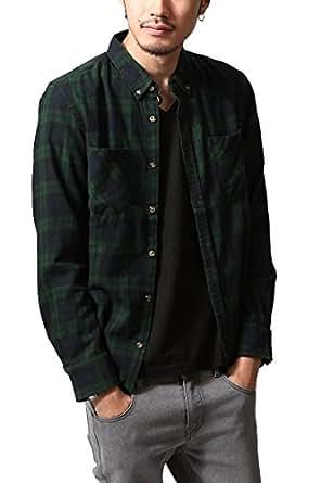 (sw4227) ビエラ起毛チェックシャツ (BLACKWATCH S)
