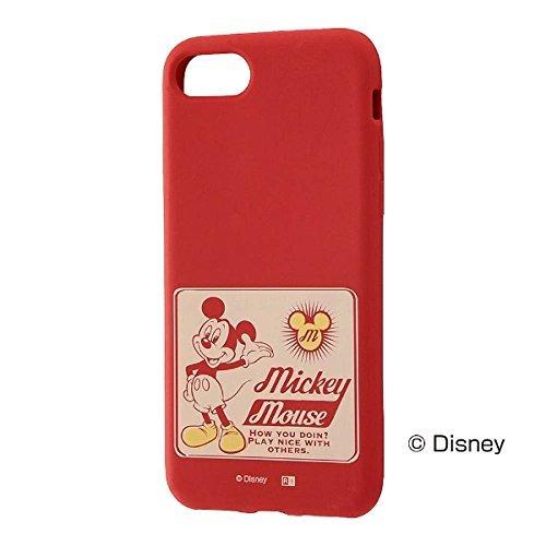 レイ・アウト iPhone 8用 ディズニー/シリコンケース...