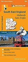 South East England - Michelin Regional Map 504 (Michelin Regional Maps)
