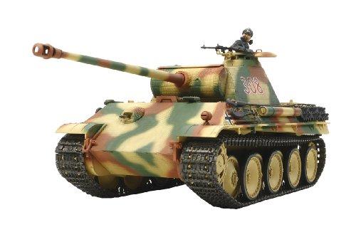 1/35 戦車シリーズ No.55 ドイツ 戦車 パンサーG 初期型 (シングルモーターライズ) 30055
