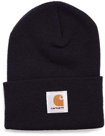 (カーハート)Carhartt Acrylic Watch Hat A18-13F  ニットキャップ ニット帽 ワッチキャップ 帽子 ビーニー Navy F